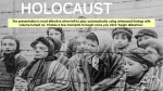 The Holocaust ( Free PPT )