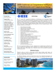 IEEE Conference on Computational Intelligence in Bioinformatics