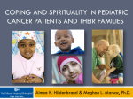 coping and spirituality in pediatric cancer patients