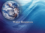 Chapter 9 - Water Resources