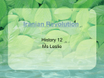 Iranian Revolution - Charles Best Library