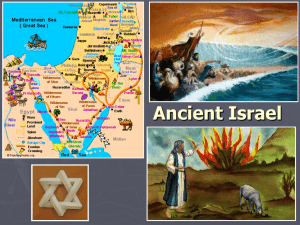 Ancient Israel - Warren County Schools