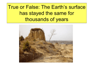 PowerPoint:Weathering and Erosion