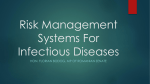 Risk Management Systems For Infectious Diseases