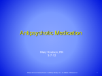 Antipsychotic Medication