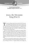 Jesus, the Messianic King (Part 1)