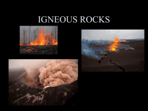 Igneous Rock PPT notes