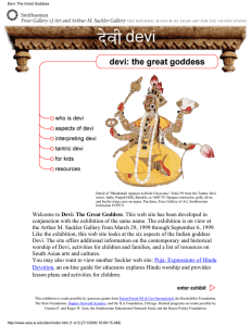 Devi: The Great Goddess