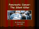 Pancreatic Cancer and Surgical Intervention