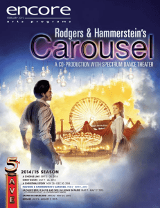 Carousel at The 5th Avenue Theatre_Encore Arts Seattle