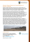 Climate Change Impacts on Coastal Regions of Western Australia