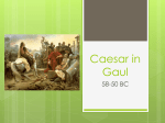 Caesar in Gaul - CLIO History Journal