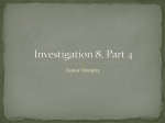 Investigation 3, Part 1