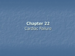 Chapter 22 – Cardiac Failure