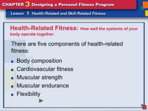 Health-Related Fitness - Anoka