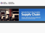 What is the Supply Chain? - www supplychaincanada org