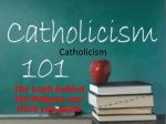 Catholicism Presentation - Holy Family Catholic Regional
