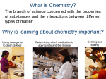 What Is Applied Chemistry?