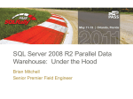SQL Server 2008 R2 Parallel Data Warehouse: Under the