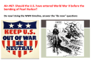 Ain #67: Should the U.S. have entered World War II before the