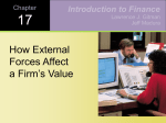 How Industry Conditions Affect Firm Value