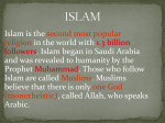 Islam and Animism File