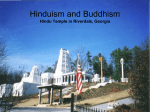 Hinduism and Buddhism - Atlanta Public Schools