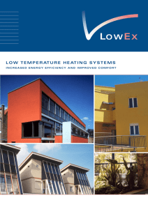 low temperature heating systems