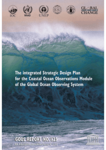 The Integrated, Strategic Design Plan for the Coastal Ocean