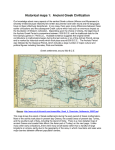 Historical maps 1: Ancient Greek Civilization