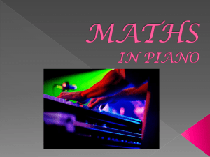 Maths and music - Project Jugaad