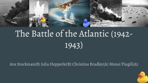 The Battle of the Atlantic (1942