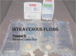 IV infusions…..