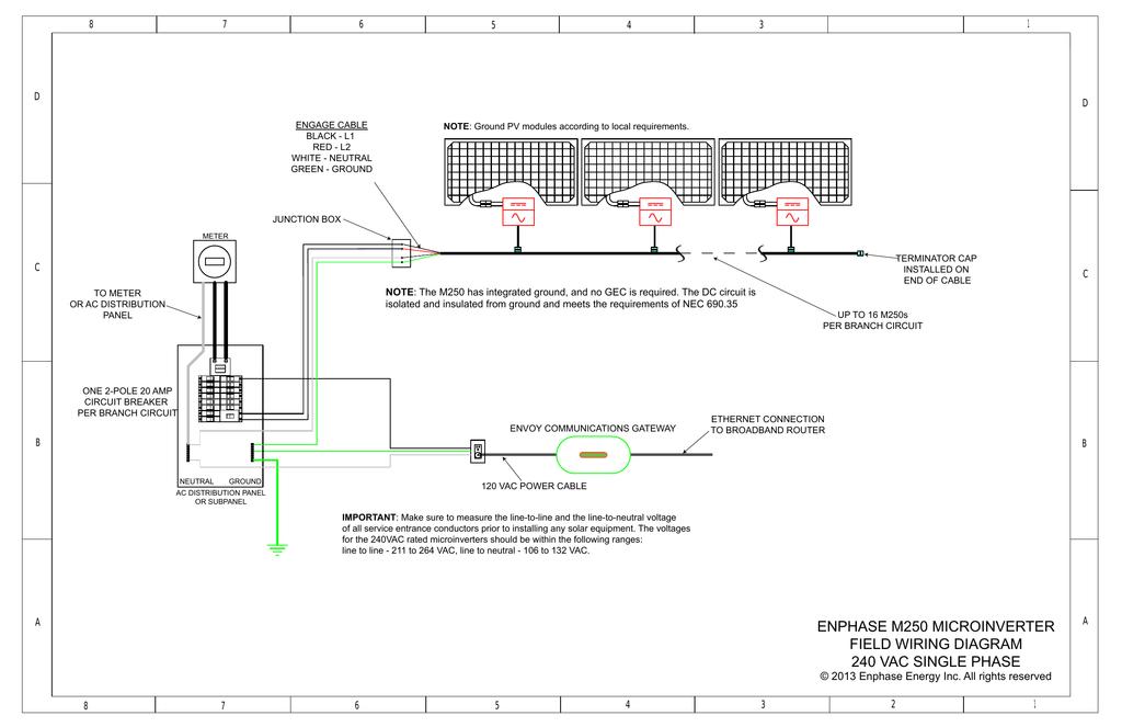 enphase m250 microinverter field wiring diagram 240 vac single enphase m215 wiring diagram at Enphase M215 Wiring Diagram