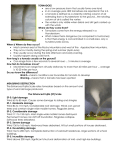 Severe Weather Notes