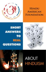 the PDF - Hindu American Foundation