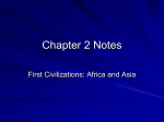 Chapter 2 Notes - Martin`s Mill ISD