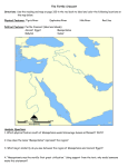 page 32- fertile crescent/ egypt map - 6