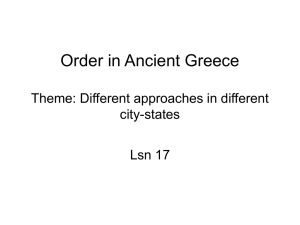 Lsn 17 Map Quiz and Greece