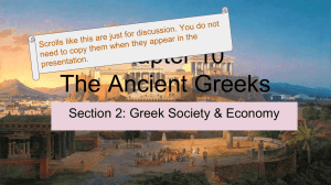 Chapter 10 The Ancient Greeks