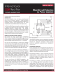Short-Circuit Protection for Power Inverters
