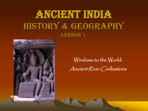 Ancient India - Bibb County Schools
