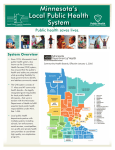 Minnesota`s Local Public Health System