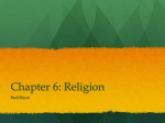 Chapter 6: Religion