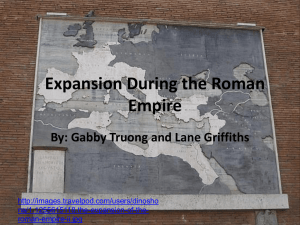 Expansion During the Roman Empire