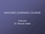 Machine Learning - Department of Computer Science