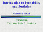 Introduction to Probability and Statistics Eleventh Edition