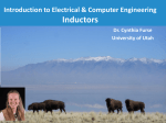 University of Utah Introduction to Electromagnetics Lecture 1: Review