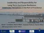 Hurricane Resilience: Port of Providence