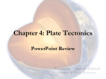 Chapter 4: Plate Tectonics